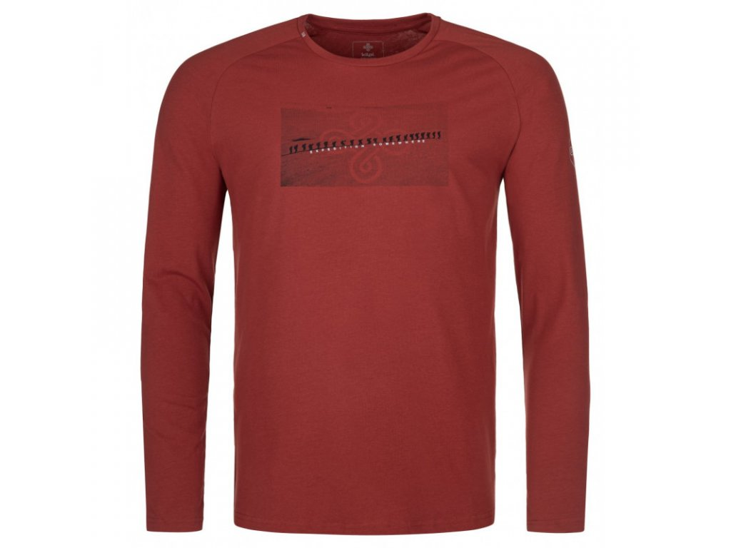 Pánské triko KILPI Sorel-M tmavě červená