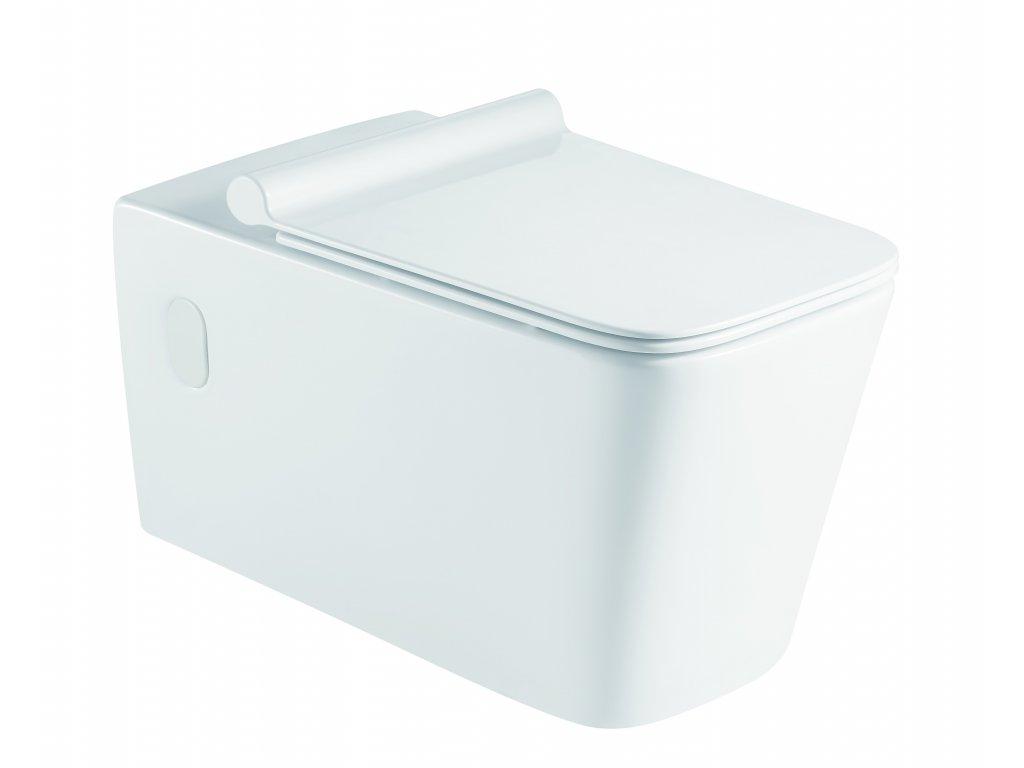 Závěsné WC ORLO II. RIMLESS se SLIM sedátkem Soft-close