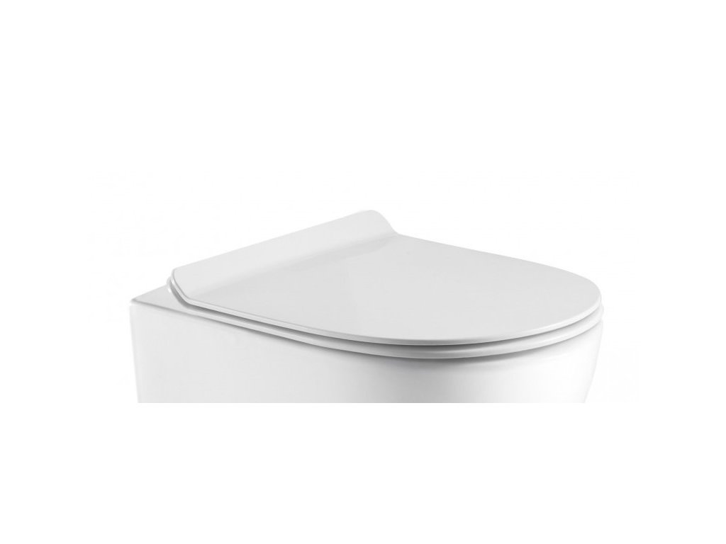 WC sedátko ARCO SLIM soft-close, oválné