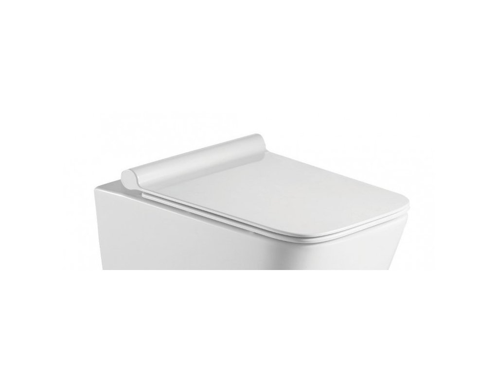 WC sedátko ORLO SLIM soft-close, hranaté