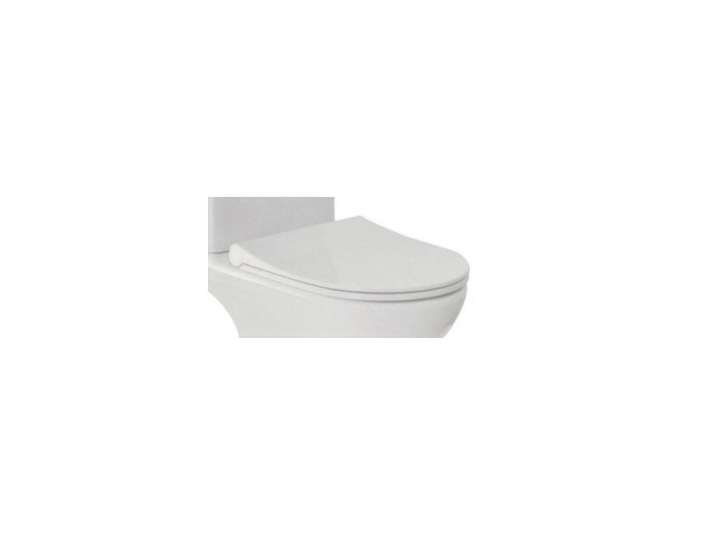 WC sedátko TRIA SLIM soft-close, oválné