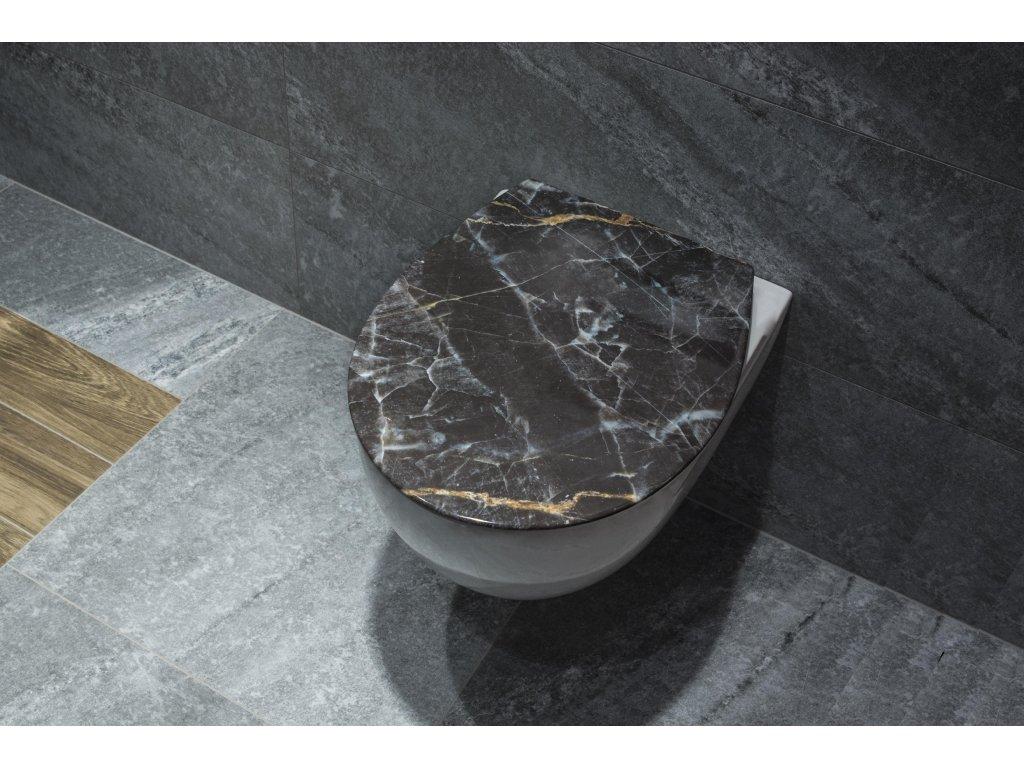 WC sedátko BAROK soft-close, oválné