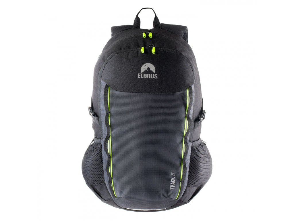 Městský batoh ELBRUS Track 20 l - black/lime