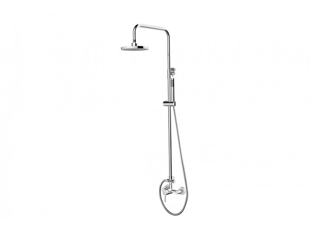 Nástěnný sprchový set DECCO/ILLUSION chrom