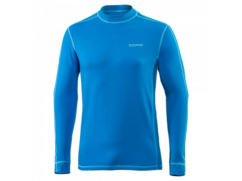 Pánské thermo tričko KLIMATEX Teo - světle modrá