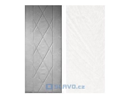 HOPA Standard 80 x 200 cm - bílá extra 21