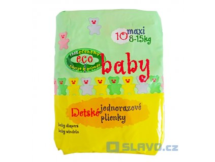 ECO BABY Maxi 8-15 kg 10 ks