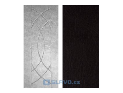 Čalounění dveří HOPA Euro - černá 16 - atypický rozměr