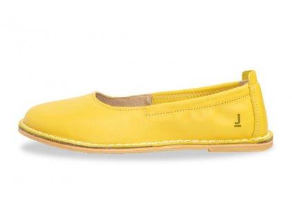 Dámské baleríny JANCARIK Balerina Yellow