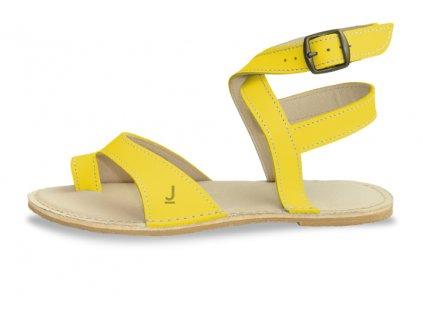 Dámské sandály JANCARIK Strap Yellow