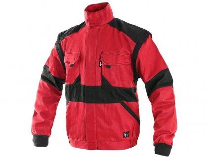 Pánská blůza CXS Luxy Eda - červená/černá