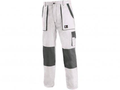 Pracovní kalhoty CXS Luxy Josef - bílá/šedá