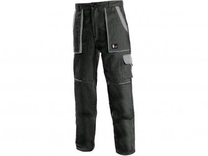 Pracovní kalhoty CXS Luxy Josef - černá/šedá
