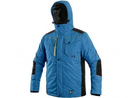 Pracovní bunda CXS Baltimore - středně modrá/černá