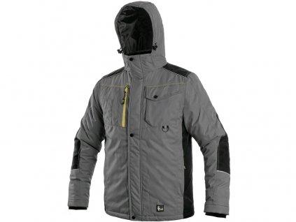Pracovní bunda CXS Baltimore - šedá/černá