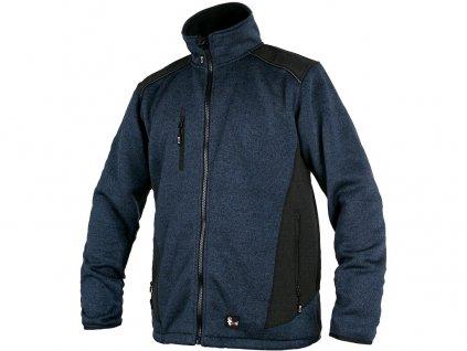 Pánská bunda CXS Garland - modrá/černá