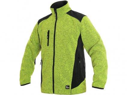 Pánská bunda CXS Garland - zelená/černá