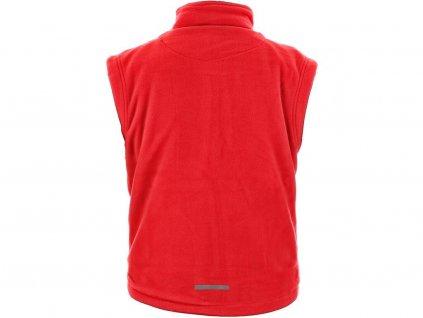 Pánská fleecová vesta CXS Utah - červená