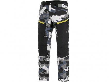 Pánské kalhoty CXS Dixon - šedá/bílá (maskáč)