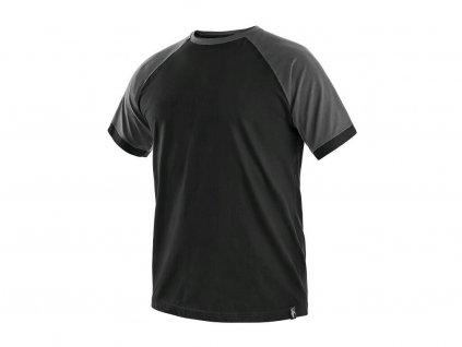 Tričko CXS Oliver - černá/šedé