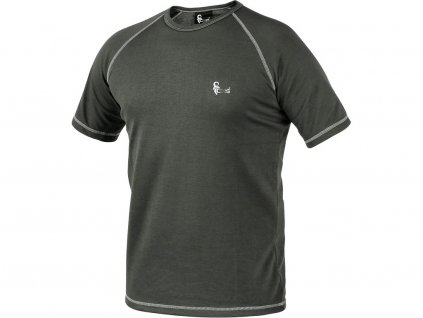 Pánské funkční tričko CXS Active KR - šedá