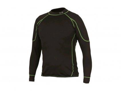 Dětské funkční tričko CXS Reward - černá/zelená