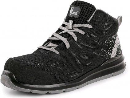 Bezpečnostní obuv CXS Texline Murter S1P černá/šedá