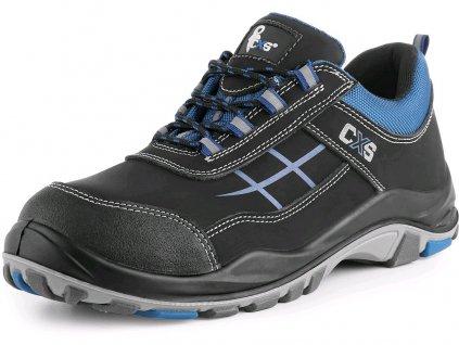 Bezpečnostní obuv CXS Dog Setter S1 modrá/černá