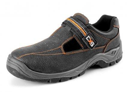 Pracovní sandál CXS Stone Nefrit O1 černá