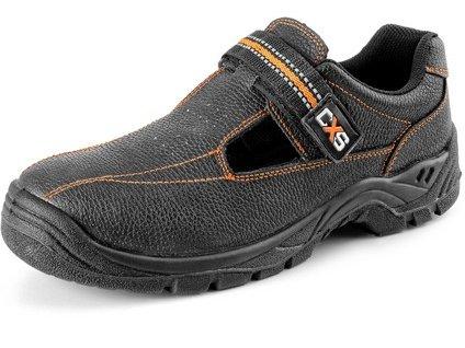 Bezpečnostní sandál CXS Stone Nefrit S1 černá