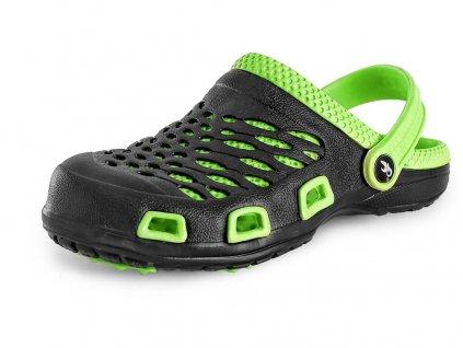 Dámský nazouvák CXS Trend - černá/zelená