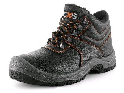 Pracovní zimní obuv CXS Stone Apatit Winter O2 černá