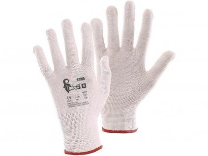 Pracovní textilní rukavice CXS Sawa
