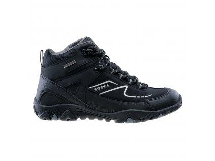 Zimní obuv ELBRUS Maash Mid WP - černá/šedá