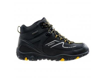 Zimní obuv ELBRUS Maash Mid WP - black/radiant yellow