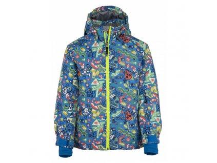 Dětská lyžařská bunda KILPI Benny-JB modrá