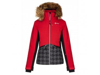 Dámská lyžařská bunda KILPI Tessa-W červená