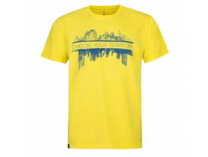 Pánské tričko KILPI Territory-M žlutá