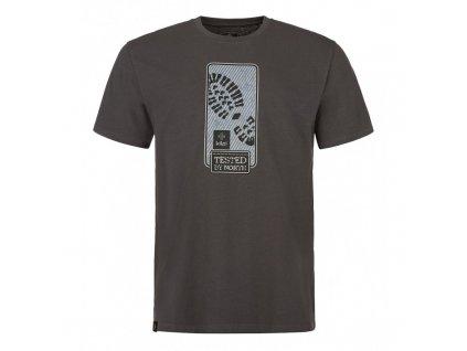 Pánské tričko KILPI Booty-M tmavě šedá