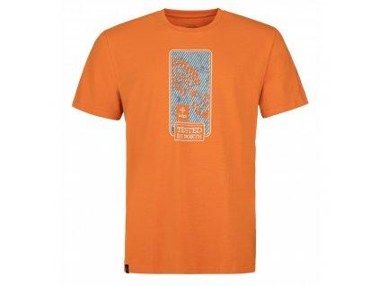 Pánské tričko KILPI Booty-M oranžová
