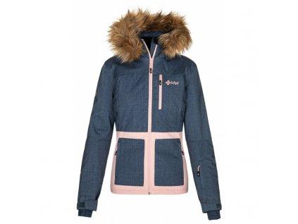 Dámská lyžařská bunda KILPI Tessa-W tmavě modrá