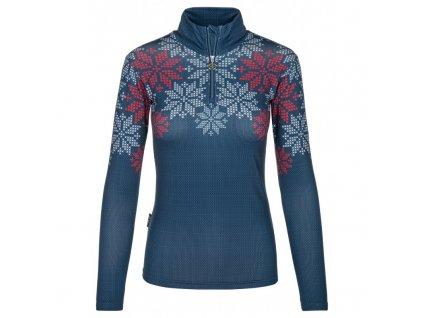 Dámské funkční triko KILPI Leema-W tmavě modrá