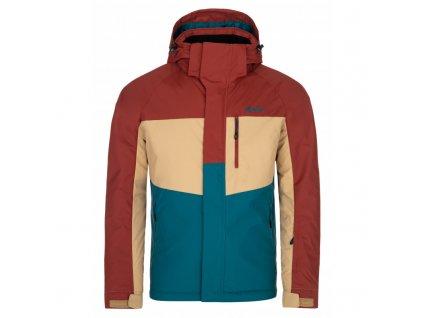 Pánská lyžařská bunda KILPI Ober-M tyrkysová
