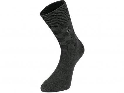 Ponožky CXS Warden - černé - set 3 párů