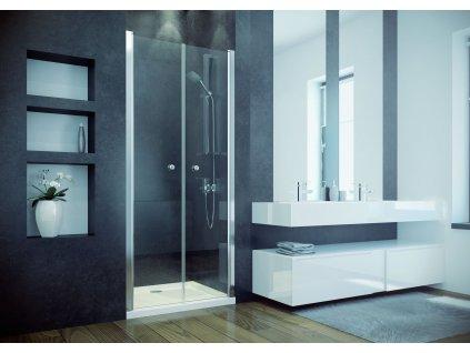 Bezrámové sprchové dveře SINCO DUE