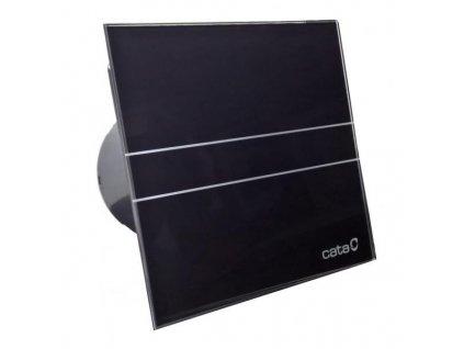 Axiální ventilátory na zeď či do stropu E100 GBT, s časovačem, sklo černé
