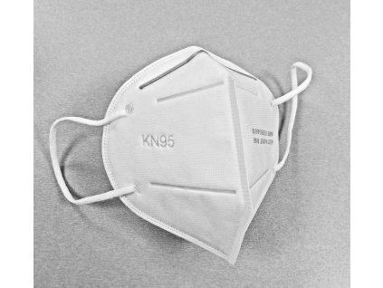 Respirátor KN95 FFP2 - balení 5 ks (21 Kč/ks)