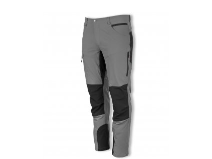 Unisex kalhoty PROMACHER Fobos Trousers - šedá/černá