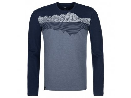 Pánské triko KILPI Drumon-M modrá