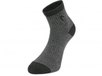 Ponožky CXS Pack II - tmavě šedá - set 3 párů
